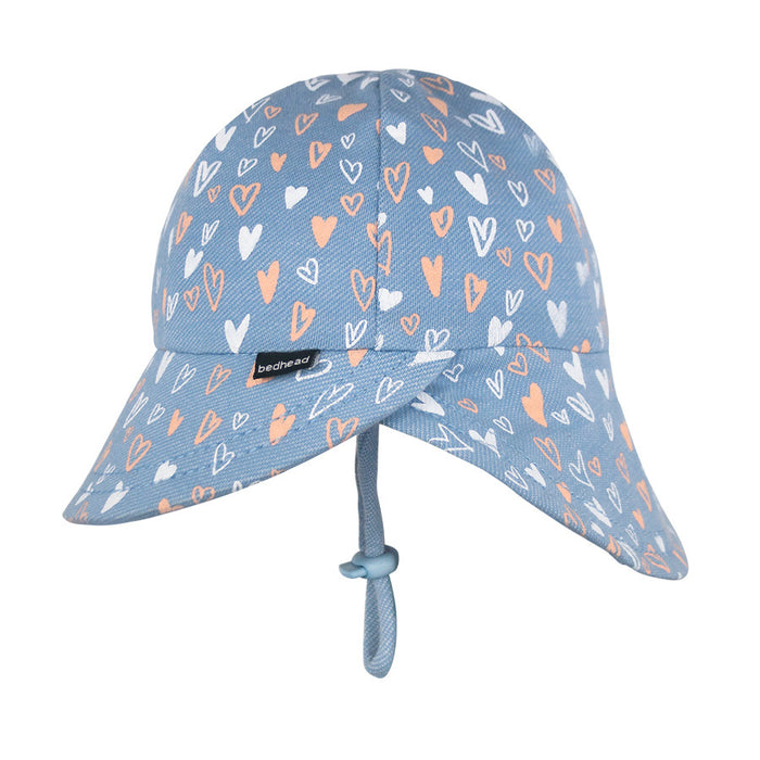 Bedhead Hats - Girls Legionnaire Hat - Heart