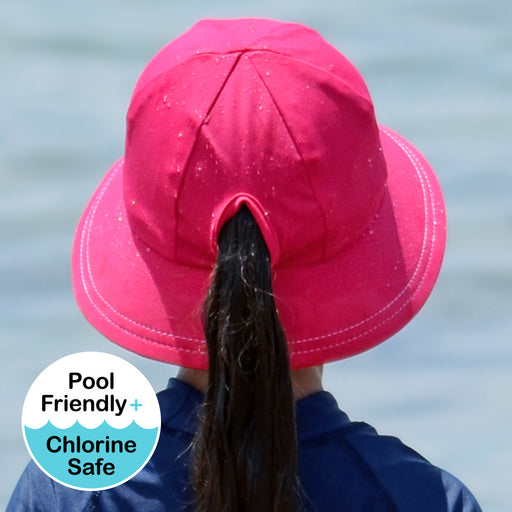 Bedhead Hats - Girls UPF50+ Bucket Swim Hat - Sherbert
