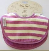 Silly Billyz - Organic Cotton Biblet 2pk - Plum