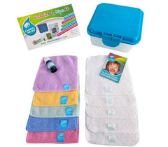 Cheeky Wipes - Washable Baby Wipes - Hands and Faces Kit