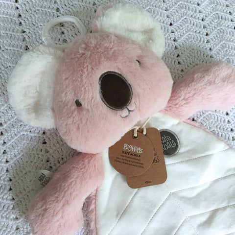 OB Designs - Comforter - Kate Koala - Pink - Eco Child