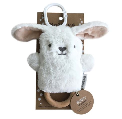 OB Designs - Dingaring Teething Rattle - Beck Bunny