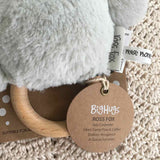 OB Designs - Dingaring Teething Rattle - Ross Fox Silver