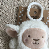 OB Designs - Dingaring Teething Rattle - Leesa Lamb