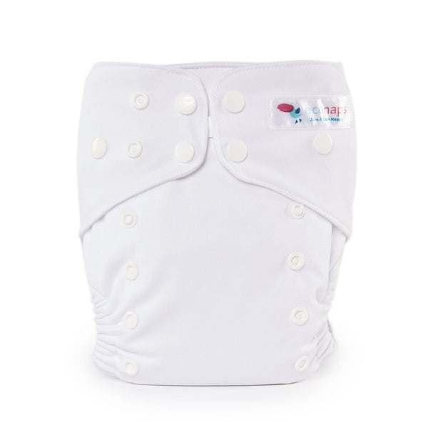EcoNaps - Reusable Modern Cloth Nappy - Snow White - Eco Child