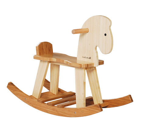 Ever Earth - Bamboo Rocking Horse