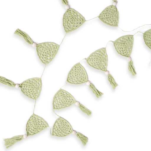 OB Designs - Crochet Flag Bunting - Sage Green