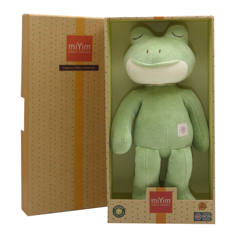 MIYIM -  100% Organic Storybook - Frog - Eco Child