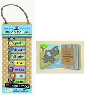Green Start - Book Tower - Little Animal
