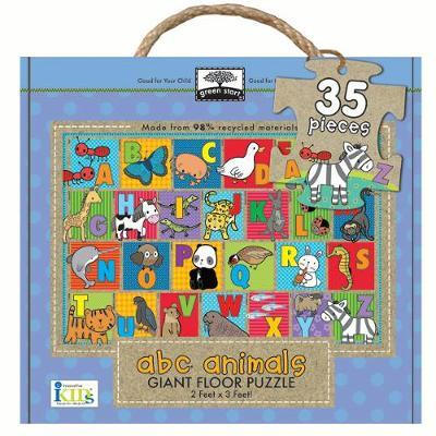 Green Start - Giant Floor Puzzle - ABC Animals