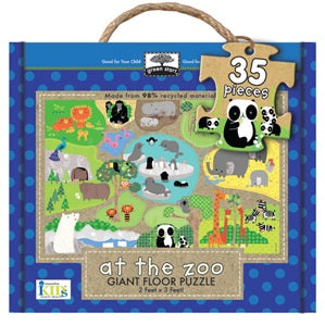 Green Start - Giant Floor Puzzle - Zoo