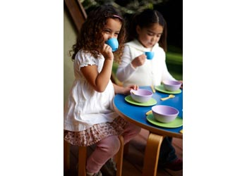 Green Toys – Recycled Plastic Dish Set – 24 Pieces
