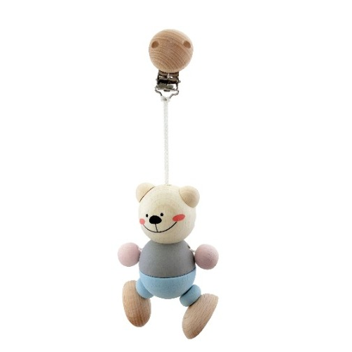 Hess-Spielzeug Bear Clip - Figure Natural - Eco Child