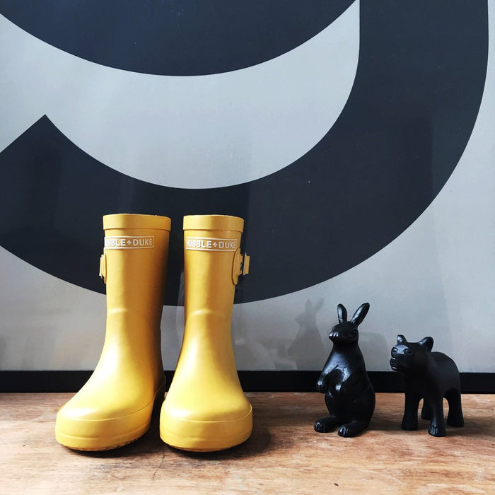 Hubble & Duke Gumboots - Mustard Yellow