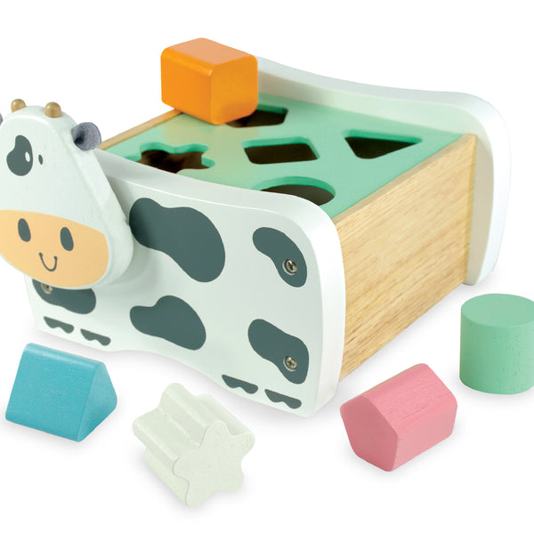 I'm Toy - Cow Geo Sorter - Pastel - Eco Child