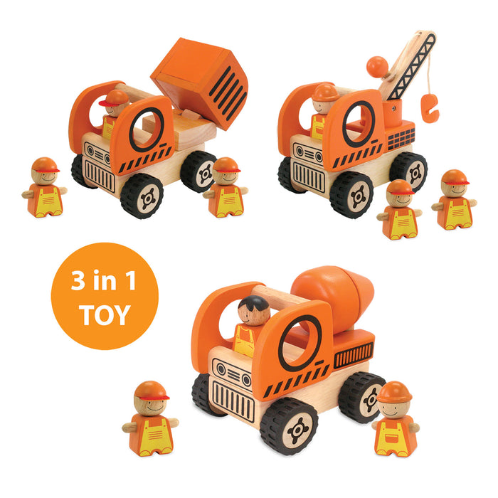 I'm Toy - Construction Vehicles Play Set