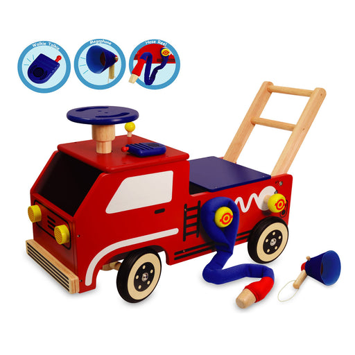 I'm Toy - Fire Engine Walk And Ride