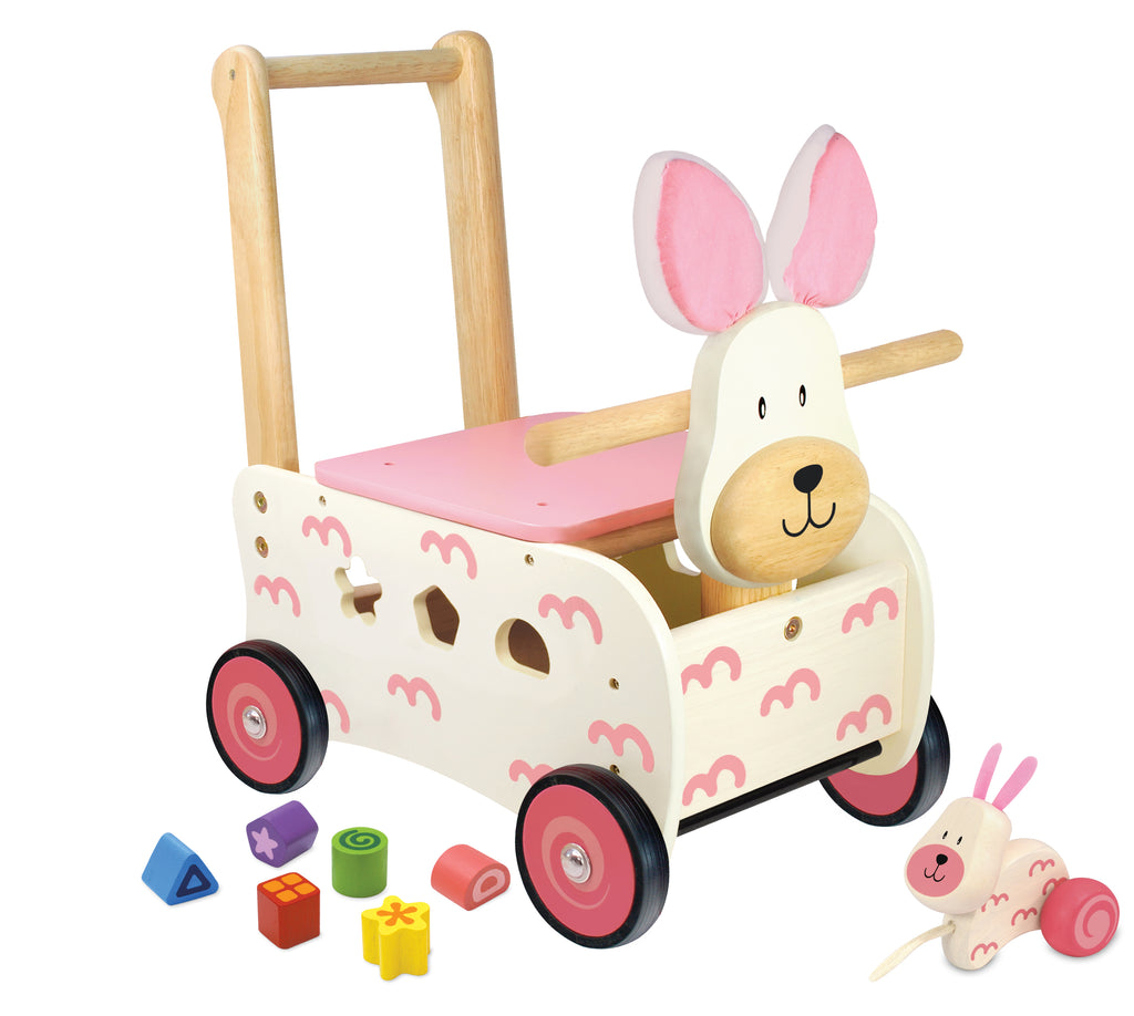 I'm Toy - Walk And Ride Bunny Sorter - Eco Child