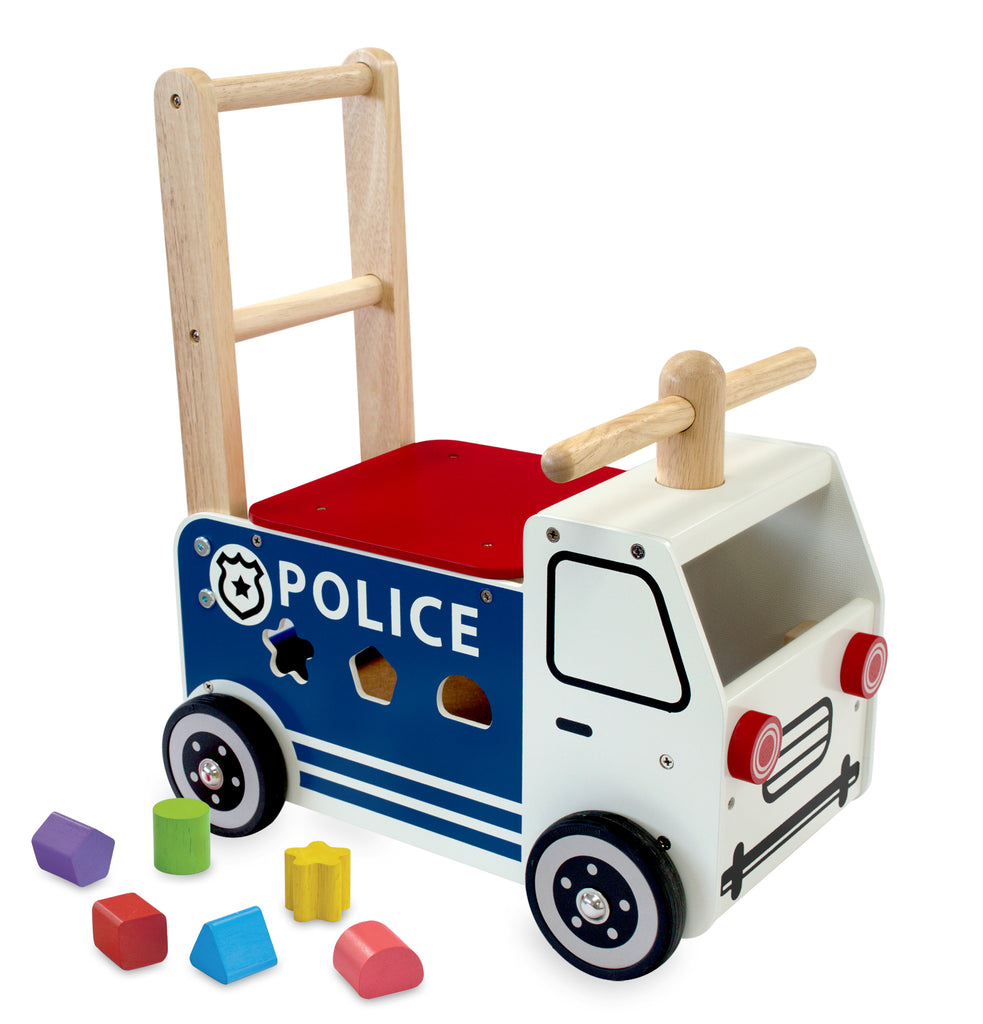 I'm Toy - Walk and Ride Police Car Sorter - Eco Child