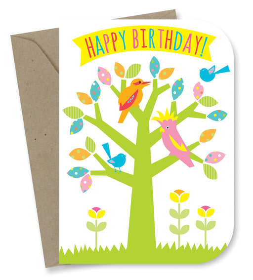 Earth Greetings - 100% Earth Friendly Gift Cards - Birthday - Tree Party
