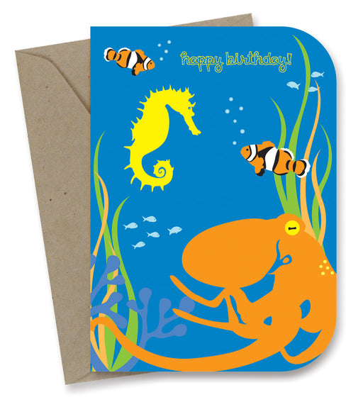 Earth Greetings - 100% Earth Friendly Gift Cards - Octopusses Garden