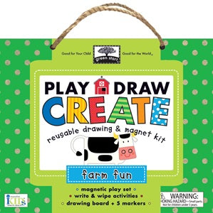 Green Start - Play Draw Create - Farm Fun