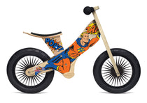 Kinderfeet - Balance Bikes - Retro Superhero, , kinder feet, Kinderfeets, toys, Wooden Toys, Toys, wooden toys for babies, baby toys, newborn toys, baby wooden toys, wooden toys, sustainable, Eco friendly, environment friendly, Eco, Natural, eco products in Australia