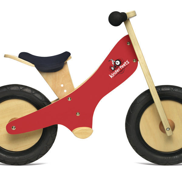 Kinderfeet - Balance Bikes - Red - Eco Child
