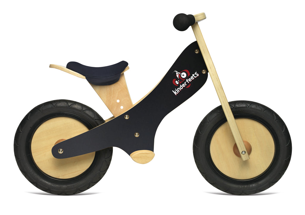 Kinderfeet - Balance Bikes - Black - Eco Child