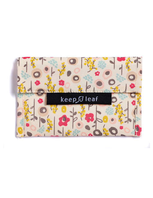 Keep Leaf - Reusable Baggie - Small - Bloom