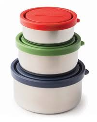 Kids Konserve Nesting Trio Containers - Set of 3 - Ocean