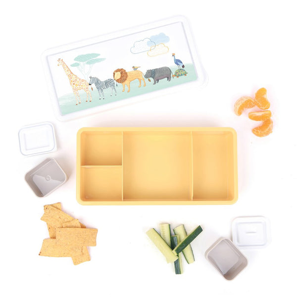 Love Mae - Lunch Box -On Safari - Eco Child