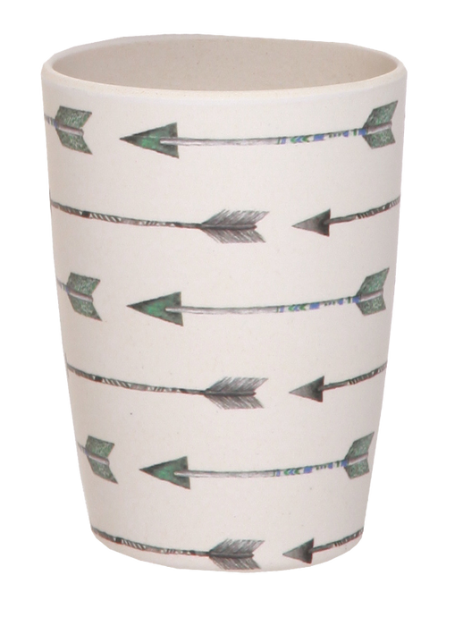 Love Mae - Bamboo 4 Pack Tumblers - Arrow and Feathers