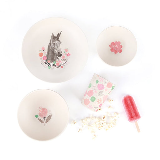 Love Mae - Bamboo 4pc Set - Unicorn Supper