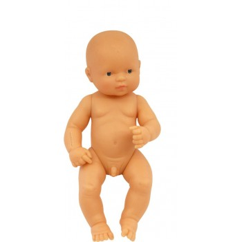 Miniland - Anatomically Correct Baby Doll 32cm - Caucasian Boy ( undressed )