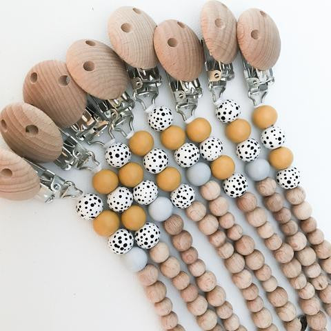 Pop Ya Tot - Dummy Chain - Cut the Mustard  Best Sellers, Dummies & Dummy Chains, dummy-chains, Pop Ya Tot Dummy Chains Dummy Chains Pop Ya Tot Natural dummy chain Eco friendly dummy chain Eco Natural Non toxic Sustainable