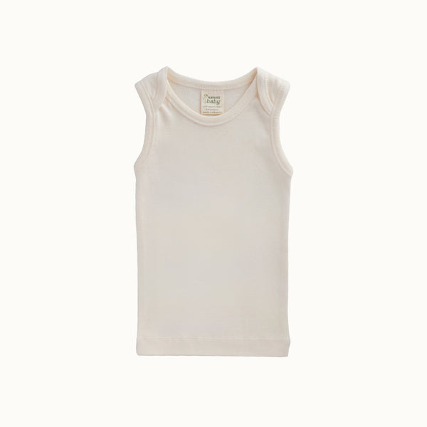 Nature Baby - Organic Cotton Singlet - Natural