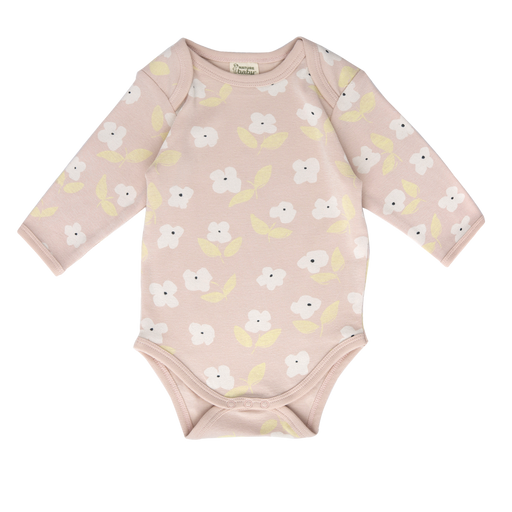 Nature Baby - Long Sleeve Bodysuit - Meadow Print