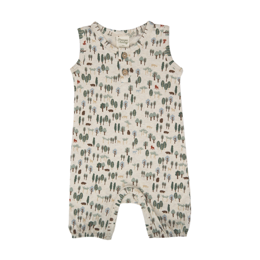 Nature Baby - Summer Suit - Forest Print