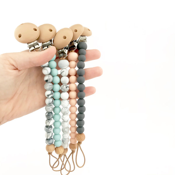 Nature Bubz - Dummy Chain - Blush Granite - Eco Child