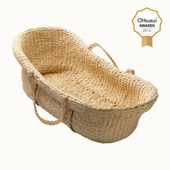 Nature Baby - Moses Basket Bundle including Tetra Tea Tree Mattress