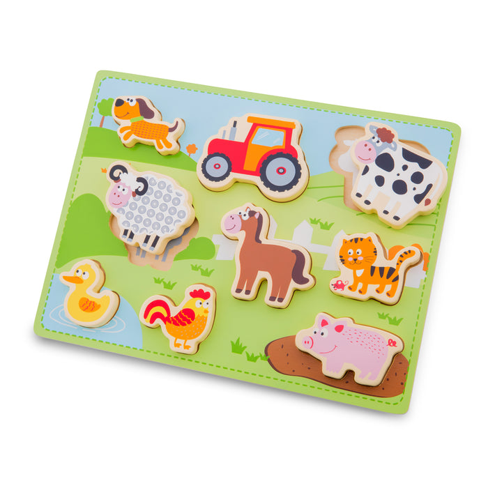 New Classic Toys - Farm Puzzle