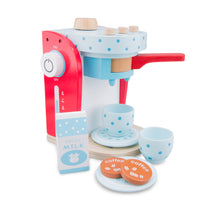 New Classic Toys - Wooden Coffee Machine Blue - Eco Child