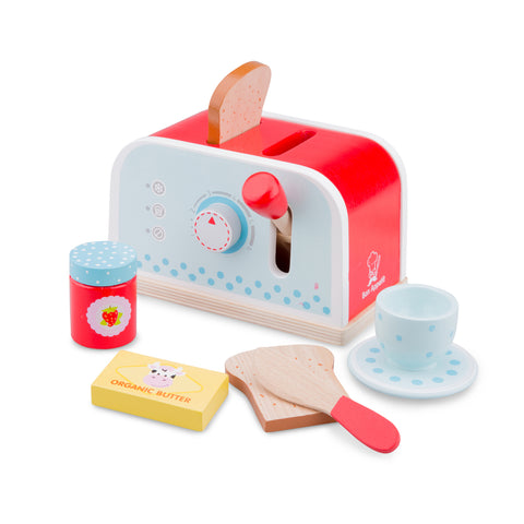 New Classic Toys - Pop-up Toaster, , cf-type-wooden-toys, kitchen, New Classic Toys, Toys, Wooden Toys, Toys, wooden toys for babies, baby toys, newborn toys, baby wooden toys, wooden toys, sustainable, Eco friendly, environment friendly, Eco, Natural, eco products in Australia