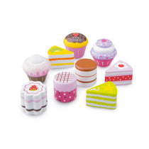New Classic Toys - Wooden Petit Four Cake Set - Eco Child