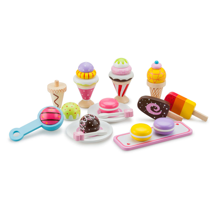 New Classic Toys - Gourmet Ice Cream Set