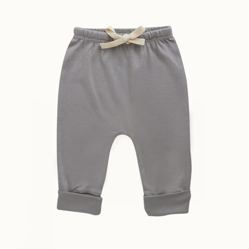 Nature Baby - Cotton Drawstring Pant - Grey
