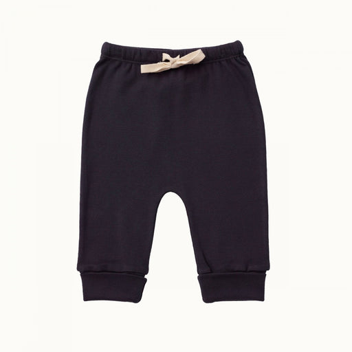 Nature Baby - Cotton Drawstring Pant - Navy
