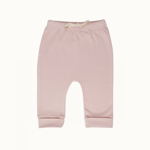Nature Baby - Cotton Drawstring Pant - Petal