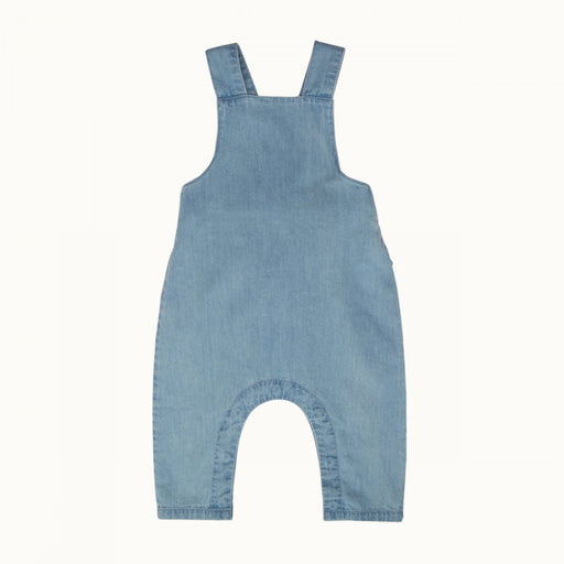 Nature Baby - Denim Finley overalls - Sky
